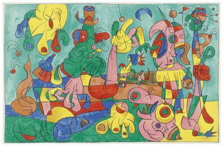 Libro Ilustrado Miró - Ubu Roi (with 13 color lithographs by Joan Miró)