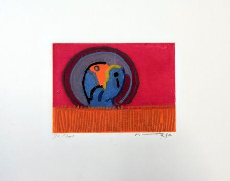 Aguafuerte Ortega - Uccelli