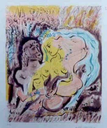 Aguafuerte Y Aguatinta Masson - Ulysses et Circe's