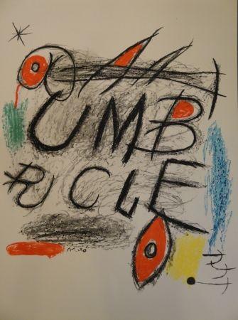 Litografía Miró - Umbracle
