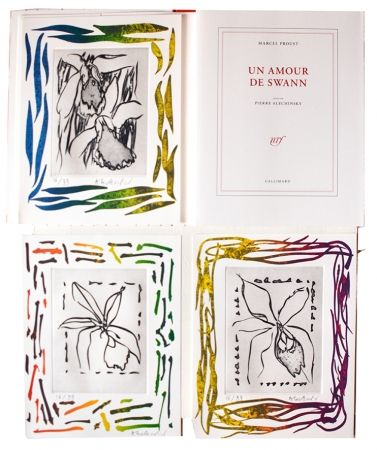 Libro Ilustrado Alechinsky - Un amour de Swann