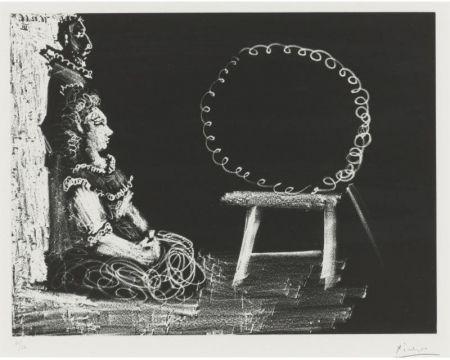 Aguatinta Picasso - Un couple d'amateurs