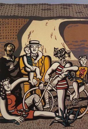 Serigrafía Equipo Cronica - Un día en el campo (carpeta Conmpositions)