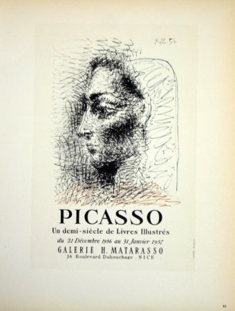 Litografía Picasso (After) - Un Demi Siecles de Livres Illustrés