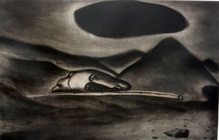 Aguafuerte Y Aguatinta Cucchi - Un 'immagine oscura