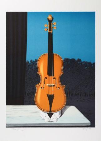 Litografía Magritte - Un peu de l'âme des bandits