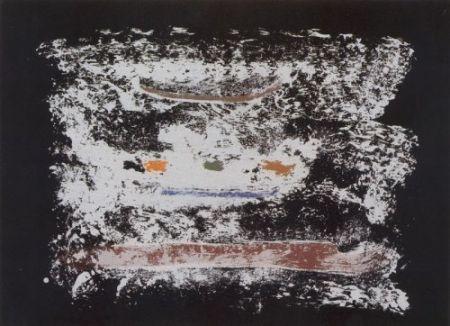Litografía Frankenthaler - Un poco más