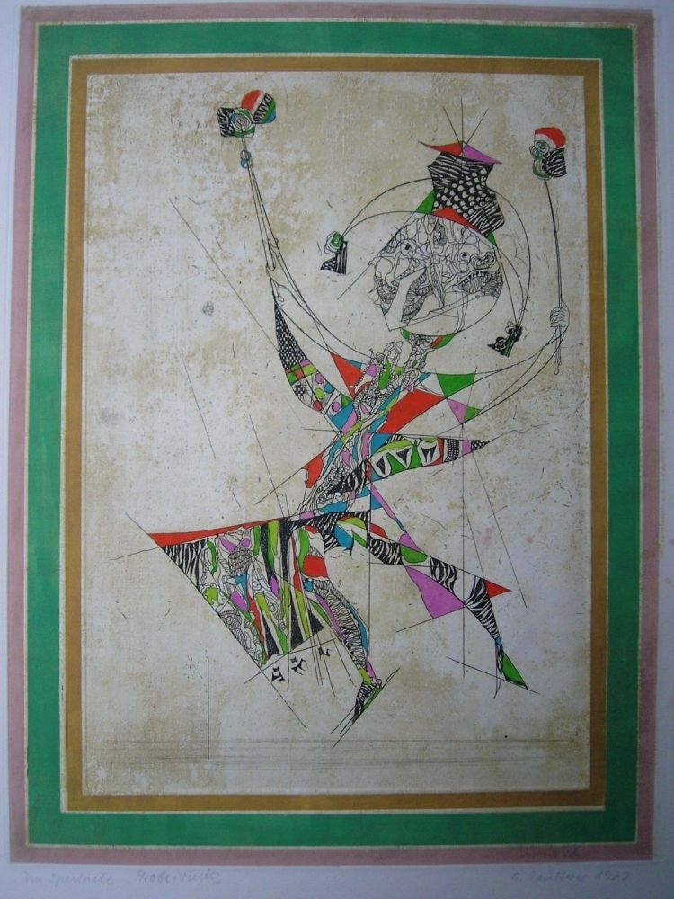 Aguafuerte Y Aguatinta Finsterer - Un Spectacle