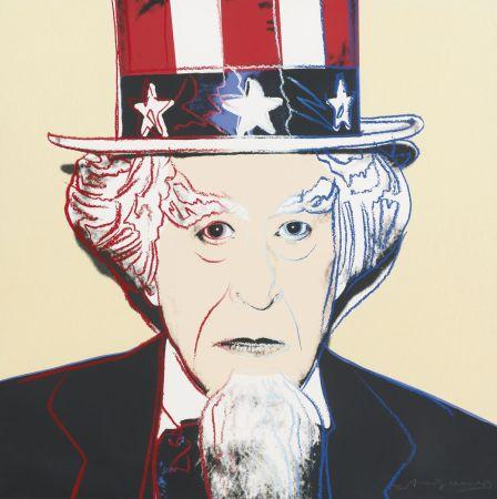 Serigrafía Warhol - Uncle Sam (FS II.259)