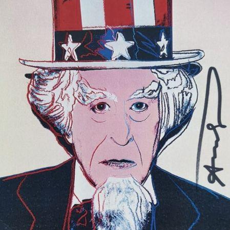 Serigrafía Warhol - Uncle Sam
