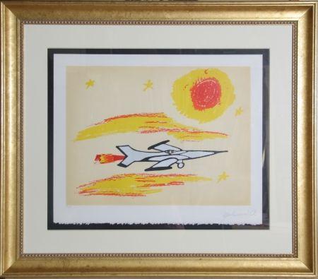 Serigrafía Ali - Under The Sun