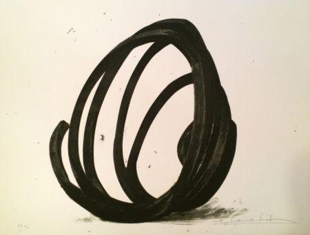 Serigrafía Venet - Undetermined Line