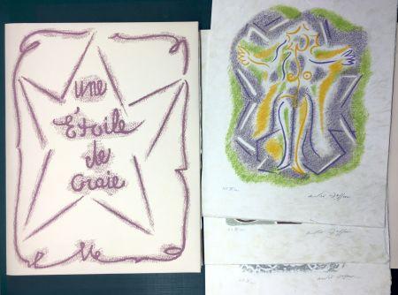 Libro Ilustrado Masson - UNE ÉTOILE DE CRAIE. Seize lithographies originales signées d'André Masson