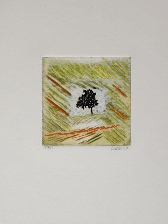 Grabado Louttre - Une petite brune