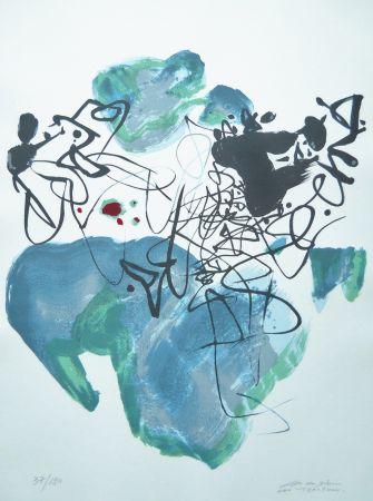 Serigrafía Chu Teh Chun  - Universal Peace