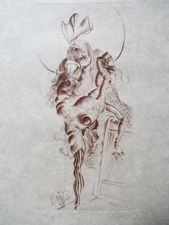 Aguafuerte Bellmer - Untitle
