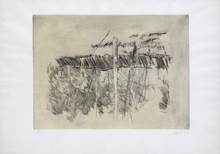 Aguafuerte Baselitz - Untitled