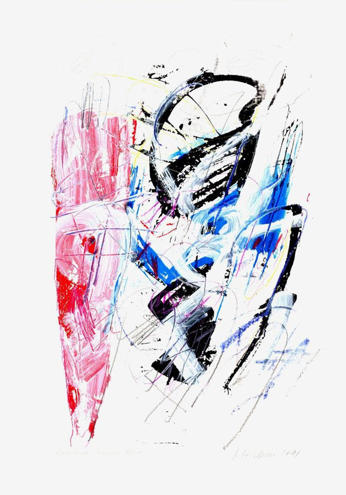 Serigrafía Czichon - Untitled