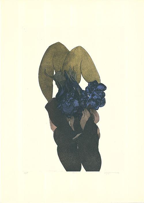 Aguafuerte Y Aguatinta Buchholz - Untitled