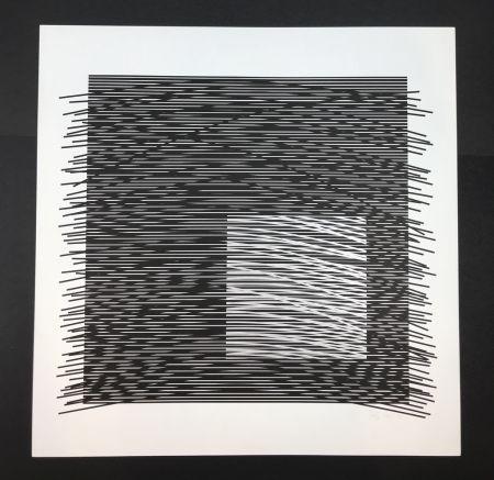 Litografía Soto - Untitled