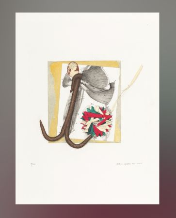 Litografía Spoerri - Untitled