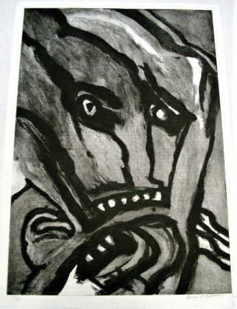 Aguafuerte Y Aguatinta Lindstrom - Untitled