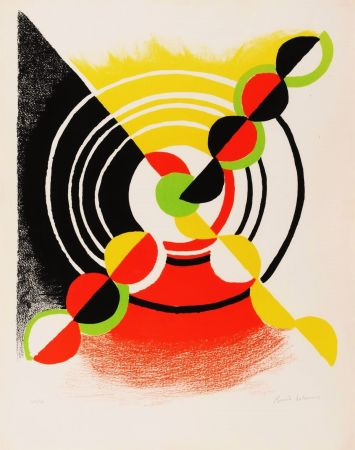 Litografía Delaunay - Untitled