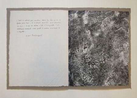 Litografía Dubuffet - Untitled
