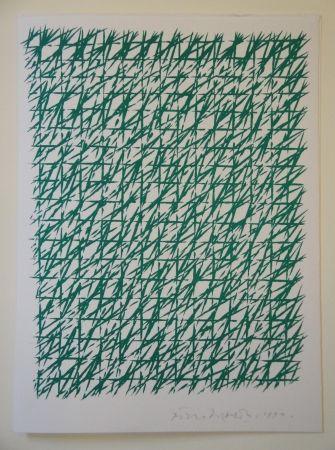 Litografía Dorazio - Untitled