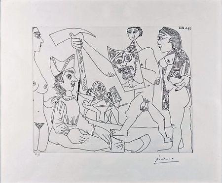 Aguafuerte Picasso - UNTITLED