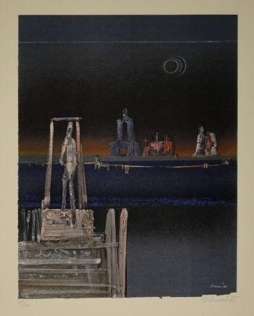 Litografía Tschumi - Untitled