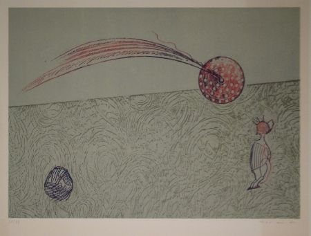 Litografía Ernst - Untitled