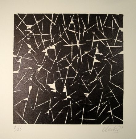 Grabado En Madera Uecker - Untitled