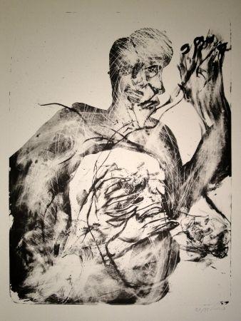 Litografía Disler - Untitled