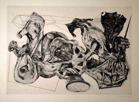 Grabado Schifferle - Untitled