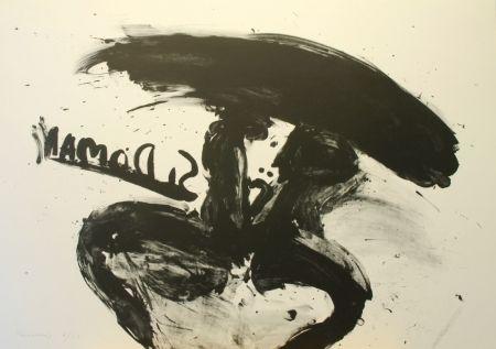 Litografía Kounellis - Untitled