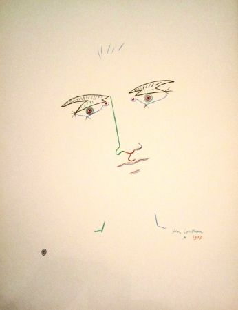 Litografía Cocteau - Untitled