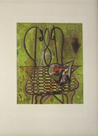 Litografía Braque - Untitled