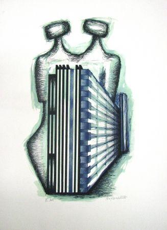 Litografía Boyan - Untitled