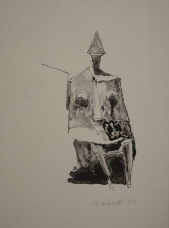 Litografía Chadwick - Untitled