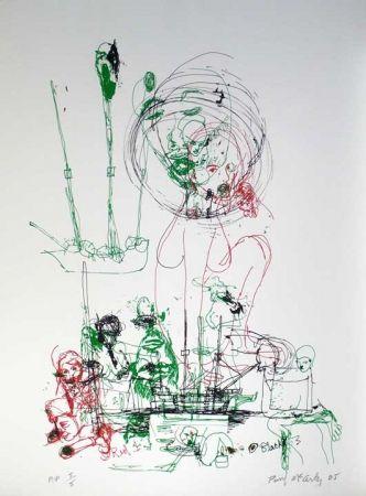 Serigrafía Mccarthy - Untitled