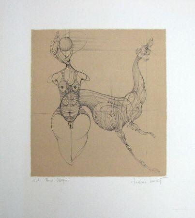 Litografía Bouché - Untitled