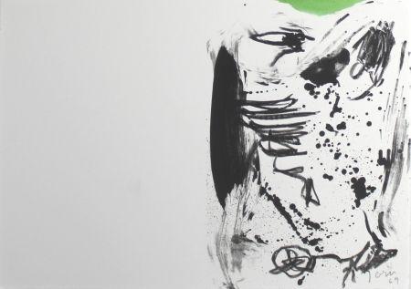 Litografía Jorn - Untitled