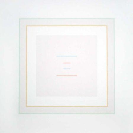Serigrafía Calderara - Untitled