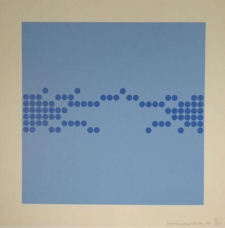 Serigrafía Loewensberg - Untitled