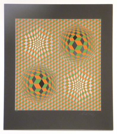 Serigrafía Vasarely - Untitled