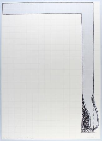 Litografía Bechtold - Untitled
