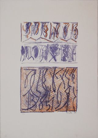 Litografía Licata - Untitled