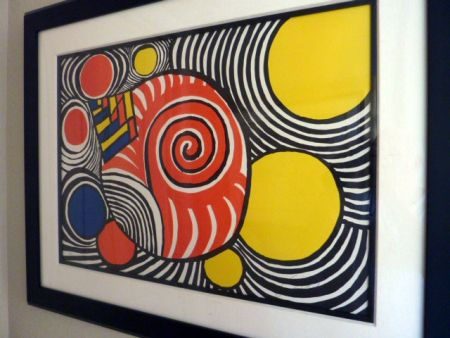 Litografía Calder - Untitled