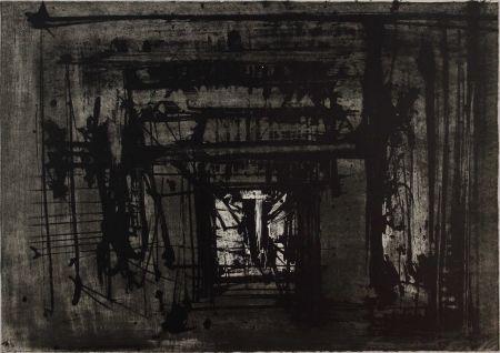 Litografía Scanavino - Untitled